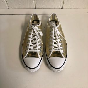 Converse All Star Clear OX See Thru Sneakers